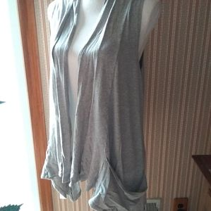 Miley Cyrus Max Azria Loose Drapey Vest